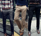 Stylish Men's Straight Pants Casual Trousers Bottoms FORMAL SUITS DRESS PANTS ❤
