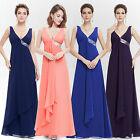 US Women's Sexy Long Formal Evening Gowns Party Prom Bridesmaid Dresses 09981