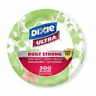 Dixie Ultra Heavy Duty Disposable Microwavable Paper Plates
