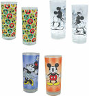 Mickey Mouse: Glass Tumbler Set New & Official Disney In Pack 350ml Set Of 2