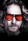 The Big Lebowski Jeff Bridges Vintage Movie Art Print in Card Canvas