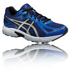 Asics Patriot 7 Mens Blue Cushioned Road Running Sports Shoes Trainers Pumps
