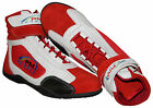 Kids/junior Karting /Race/Rally/Track Boots with artificial leather / suede mix