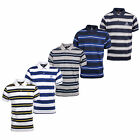 SERGIO TACCHINI Ealing Stripe Mens Fashion Polo Shirt