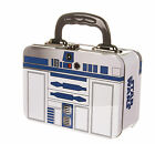 Tin Tote Lunch Box/keepsake Box ~ Star Wars ~ C-3po & R2-d2