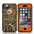 For iPhone 6 / 6s Plus Case [Clip Fits Otterbox Defender] Holster Camo