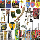 New Kids Adults Pirate Armor Play set weapon set Soldier Kit Fancy dress Accesso