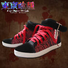 Tokyo Ghoul Kaneki Ken Mask Fashion Canvas Casual Shoes Anime Cosplay Boots New