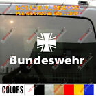 Bundeswehr Bund Deutschland Germany Army Cross Military Car Trunk Decal Sticker for sale  Shipping to Canada