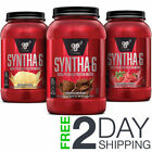 BSN Syntha-6 Whey Protein Powder 2.91 lbs  - All Flavors Free 2 Day Shipping $30.95 USD on eBay