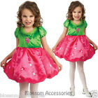 CK452 Strawberry Shortcake Girls Child Kids Fancy Dress Party Costume Book Week