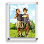 Clear Acrylic Picture Photo Wall Frames 10x8,10x12,10x20, 20x16, 20x20,20x30