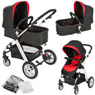 Pram travel system 2 in 1 combi stroller buggy baby jogger pushchair pram