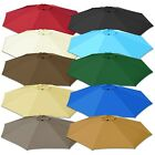 9ft 8-Rib Patio Umbrella Cover Canopy Replacement Top Outdoor