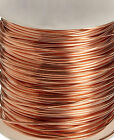Premium 99.9% Pure Bare Copper Wire Dead Soft Round 12-28 Gauge Made in USA