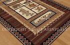 Rustic Rugs Lodge and Cabin Style Voyagers Wilderness Pattern