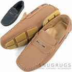 Mens Leather Casual / Formal Slip On Boat / Deck Loafer / Moccasin Shoes