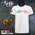 T-shirt maglietta ABARTH WORLD  595 FIAT 500 OFFICINA PREPARAZIONE RALLY PUNTO