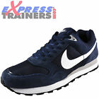 Nike Mens MD Runner Suede Leather Retro Trainers Navy New 2015 *AUTHENTIC*
