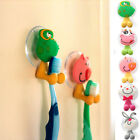 Lovely Animal Silicone Toothbrush Holder Home Set Wall Bathroom Hanger Suction