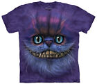 Big Face Cheshire Cat Adult T-Shirt Tee