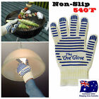 Heavy Duty Washable Non-slip Silicone Grip Oven Glove The Ove Glove 540°F Safe