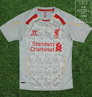 Liverpool Training Shirt - Official Warrior Boys Football Shirt - All Sizes