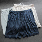 Men's Underwear 100% Mulberry Silk Brief Panties Charmeuse Silk Boxer Brief