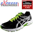 Asics Mens Patriot 7 Running Shoes Gym Fitness Trainers Black *AUTHENTIC*