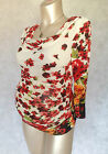 Maternity Sale Beautiful Brand New Flowery Red Top Sizes 8,10,12,14,16