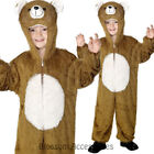 CK483 Bear Teddy Onesies Book Week Animal Jumpsuit Boys Girls Kids Fancy Costume