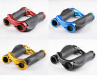 Double Lock-on Locking BMX MTB Mountain Bike Bicycle Cycling handlebar grips NEW