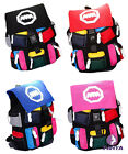 Street style Color Splice Multi-pocket High capacity Backpack College Wind bag