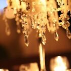 30x Acrylic Crystal Clear Garland Hanging Bead Curtain Wedding Club Party Decor