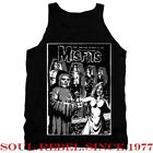 MISFITS PUNK ROCK BAND TANK TOP T SHIRT MEN'S SIZES image