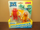 Imaginext George & Big Red Monsters University Action Figures Fisher Price NEW