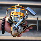 8000/9000 13 Ball Bearings Saltwater Spinning Reel 5.2:1 Boat Sea Anchor Fishing