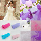 """6"""" 25 yards Tutu Tulle Roll Spool Gift Wrap Craft Bow Wedding Party Decoration"""