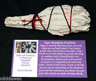 "White Sage 4"" Californian Smudge Stick Cleansing Aura Sacred Space Smudging"