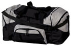 Port Company Big Colorblock Football Gym Bag Baseball Duffel Workout Sport BG99