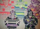 NEW JUSTICE GIRLS SIZE 6 10 12 16 20 LONG SLV STRIPE/TIE DYE HOODIE/T-SHIRT TOP
