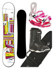 BLOWER Snowboard Damen SET CANDY white +Bindung+Boots+Bag 141/156/151cm