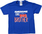 Ann Arbor T-shirt Co. Big Boys' AWESOME SONS GET PROMOTED TO BIG BROTHER Tee