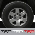 5 pcs TRD Vinyl Wheels Decals Sticker Graphic for Toyota FJ Cruiser #