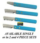 Master Grooming Tool DOG Hair Coat Hand Stripper Carding STRIPPING KNIFE*4 SIZES