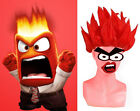 wg57 wig for inside out cosplay angry red short hair ADULT