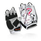 Guitar Half Finger Cycling Bicycle Gloves Women Bike Shockproof Outdoor Gloves