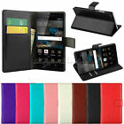 Luxury Flip PU Case Cover Wallet Card Holder Stand For Huawei Ascend P8 P8 Lite