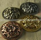 1pc Alloy Incense Burner Cover Hollow Flower Cense Top 3 Colors Religion