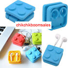 Bloque Auricular Cable Earphone Headphone Wire Organizador Wraper Earbud Winder